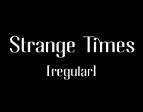 TYPOGRAPHY • Strange Times [Regular]