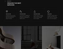 Viramain - Elegant & Minimal Architecture PSD Template