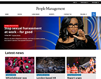 People Management website redesign