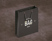 SHOPPING BAG MOCK-UP + FREE PSD