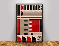 BAUHAUS Poster Challenge 01