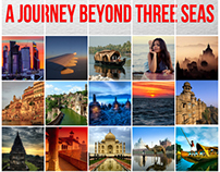 "Poster ""A journey beyond three seas"""