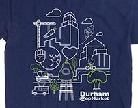 Durham, NC Co-op Anniversary T-shirt