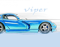 Viper Photoshop Project 10