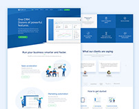 UI/UX Design for CRM