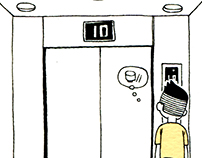 2016《Elevator going down》