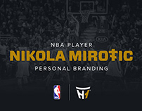 NBA Player Nikola Mirotic Personal Branding