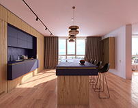 Apartment in Kiev by ZOOI