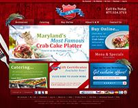 G&M Restaurant & Lounge Web Design Project
