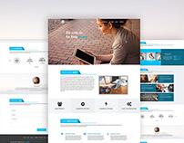 Clean Modern Web Template