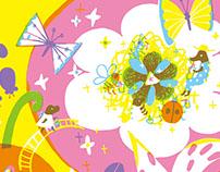 あ・そ・ぼ 表紙 2013 Cover illustration