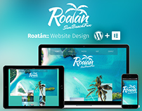 Roatán. From website design to Wordpress+Elementor