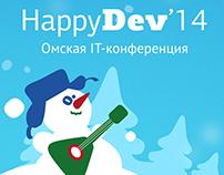 HappyDev'14 branding