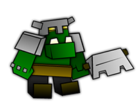 """[Game] """"WarTime"""" prototype (Animated Orc Characters)"""