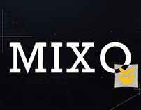 MixoFX Twitter Header // Detailed Process
