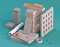 Concrete & Paper