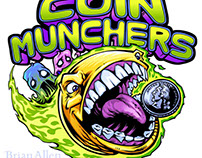 Coin Munchers Pac-Man Logo