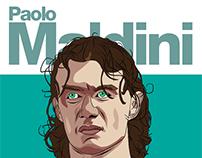 Paolo Maldini & Paul Scholes