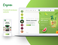Foodstuff producer website