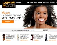 "Online store selling wigs ""CaliforniaWigs"""
