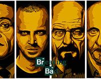 Breaking Bad - Vector Art