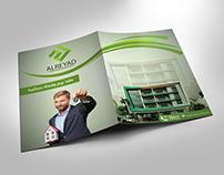 folder design for Al-Reyad Real Estate Investment