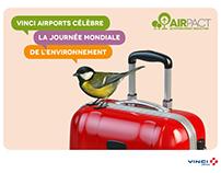 Vinci Airports Journée mondiale de l'environnement 2017