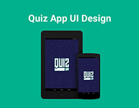 Sports Trivia - Quiz App UI Design