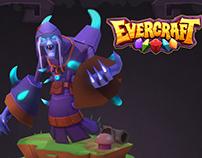 "3D Art for videogame ""Evercraft"""