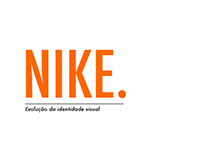 evolution of visual identity: NIKE