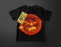 Solar System Baby T-Shirts