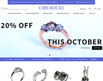 Jewellery eCommerce web site