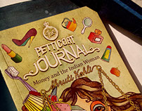 THE PETTICOAT JOURNAL - BOOK COVER DESIGN