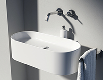 various bathroom / designed and visualized