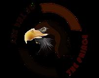 illustrated eagle design