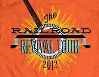 Railroad Revival Tour 2012 T-shirt