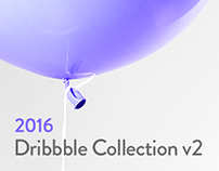 Dribbble Shots 2016 v2