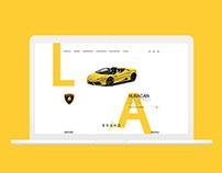 Lamborghini - Website Redesign