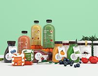 你好大海作品「 遇愫 organic style 」品牌设计 - 无负担的生活感,不止于爱!