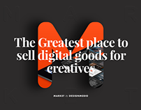 Market - Highly Selective Marketplace for Creatives