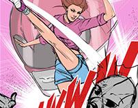 Pink Ranger - Sketch