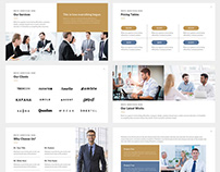 Lincoln Business Keynote Template