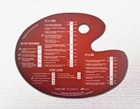 Diseño de cartas para el restaurante Arte y Sabor