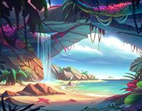 Cove Environment Art