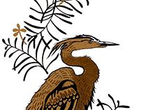 Gold Heron