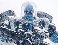 Mr. Freeze - Toy Photography