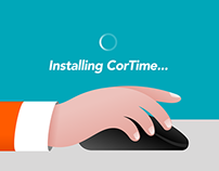 Animated video (product presentation): Apiosoft Cortime