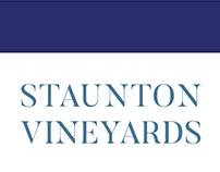 Staunton Vineyards Wine Label