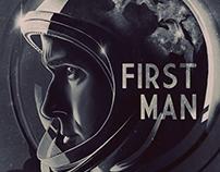 FIRST MAN | alternate movie poster