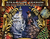 christmas card / steampunk style
